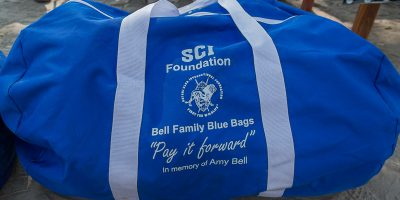 Bell Family Blue Bags in memory of Amy Bell