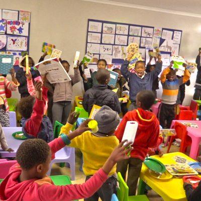 Kids at orphanage